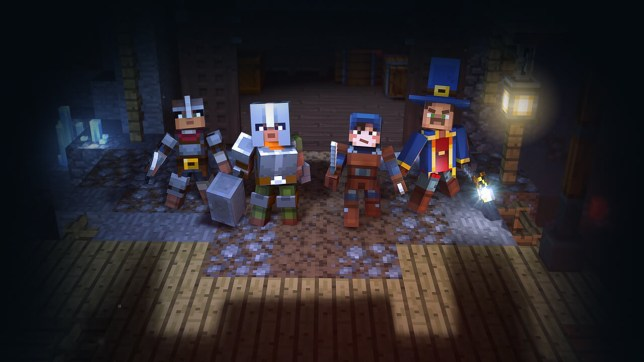 Minecraft Dungeons screenshot