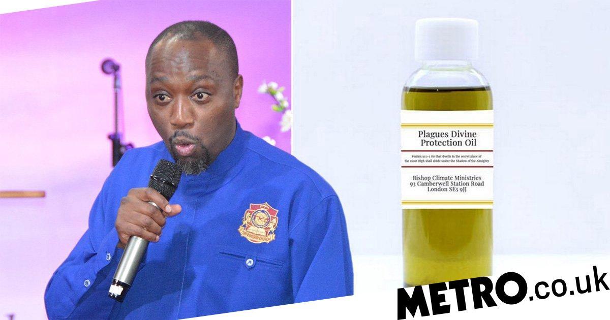 London healer 'exploits' coronavirus fears by selling useless £91 kit