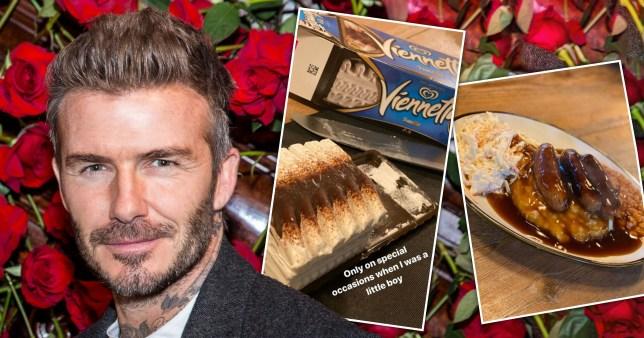 David Beckham dinner