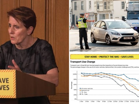 'Concerning' rise in number of cars being used under lockdown