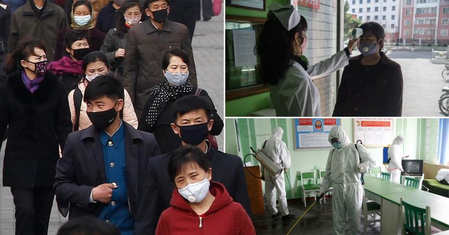 North Korea has been accused of a cover up for claiming it has had no cases of coronavirus