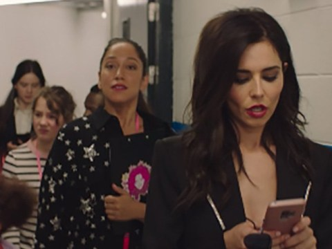 Cheryl aces pushy agent role as she makes a cameo in new movie Four Kids and It
