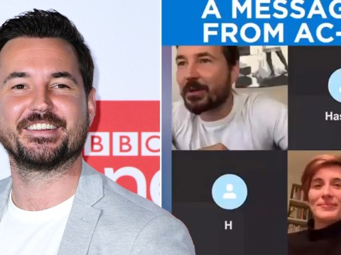 Martin Compston and Vicky McClure share message from AC12 during coronavirus lockdown and urge fans to stay home