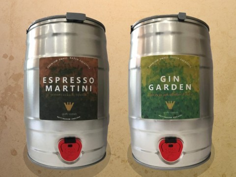 Amazon is delivering five litre kegs of espresso martini and gin cocktail to your door