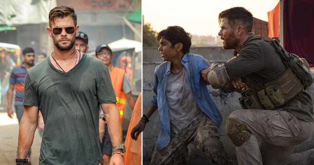 Chris Hemsworth Gets Bloody In Wild Trailer For Netflix S Extraction Metro News