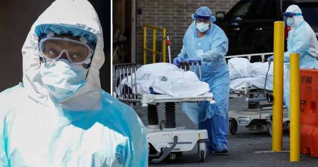 New York coronavirus death toll tops 5,400 as 731 die in one day ...