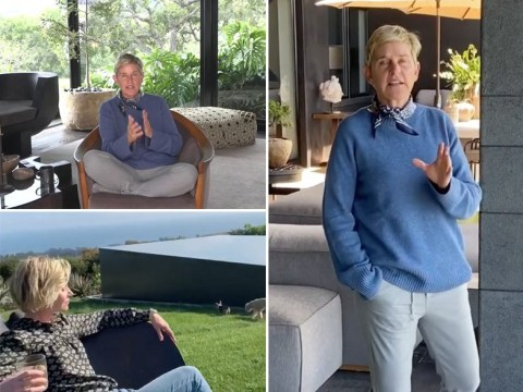Inside Ellen DeGeneres' $27million Montecito home where she is self-isolating with wife Portia de Rossi