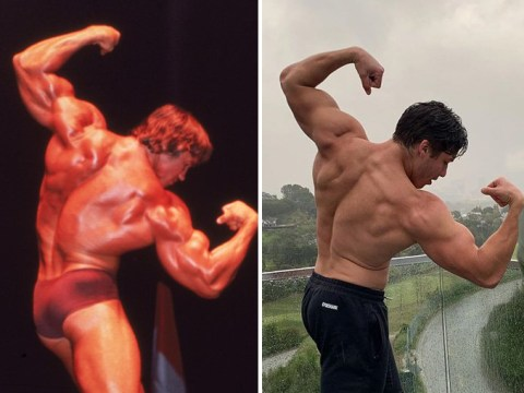 Arnold Schwarzenegger's son Joseph Baena gives us pure '70s Arnie vibes with bodybuilding snap