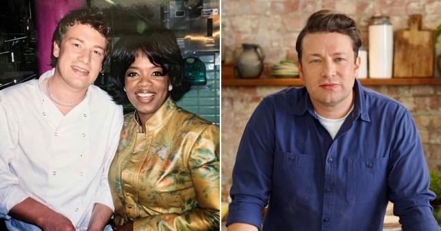 JAmie Oliver and Oprah