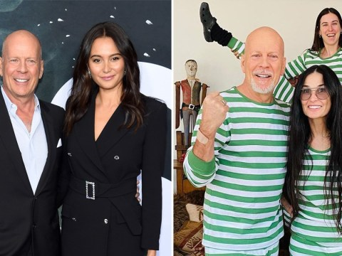 Bruce Willis has 'no issues' with wife Emma as he self-isolates with ex Demi Moore
