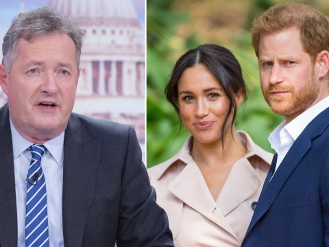 Piers Morgan bans 'whiny little brats' Prince Harry and Meghan Markle from Good Morning Britain