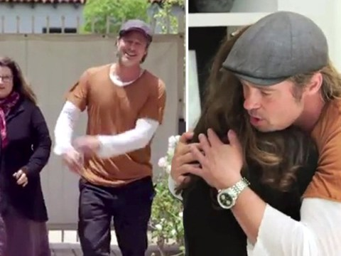 Brad Pitt ends up in tears after surprising make-up artist bestie with brand new guest house