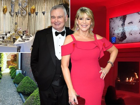 Inside Eamonn Holmes and Ruth Langsford's home where the This Morning presenters have been self-isolating