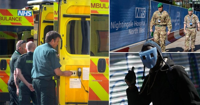 Figures from the ONS show England and Wales have recorded its deadliest week since records began (Picture: PA/Reuters)