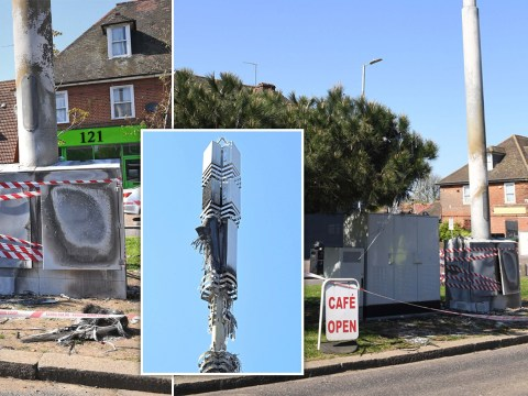20 phone masts attacked over Easter weekend as 5G conspiracies rage on