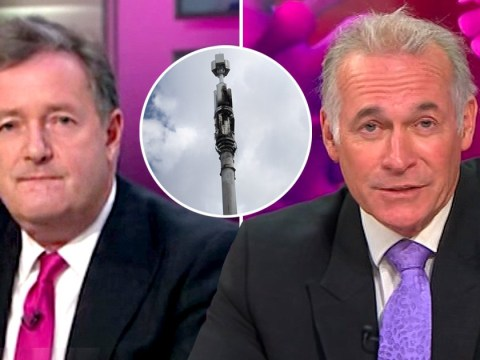 Piers Morgan and Dr Hilary Jones debunk 'stupid and ignorant' conspiracy theory that 5G causes coronavirus