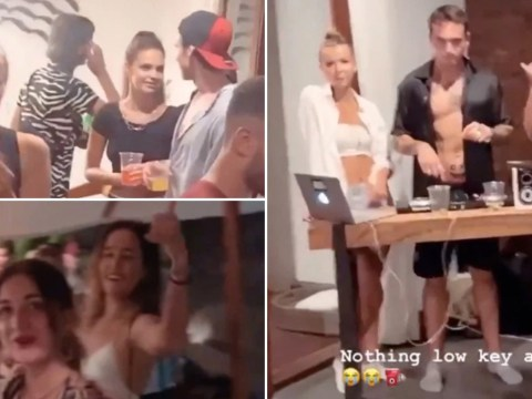 British tourists filmed partying in luxury Bali villa during outbreak