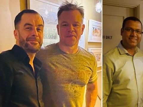 Matt Damon hangs with Irish locals after coronavirus lockdown traps him in small town