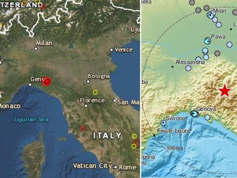Earthquake strikes Italy near worst-hit area for coronavirus