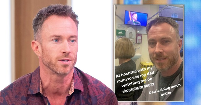 James Jordan's father has Coronavirus
