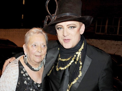 Boy George fears his mum won't be resuscitated as she battles 'heart or lung' problem in hospital