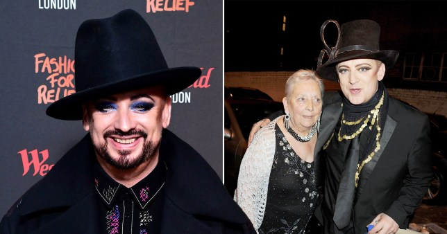 Boy George and his mother Dinah