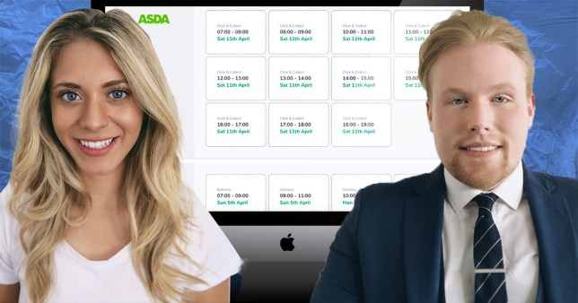 Jason Moore and Sabrina stocker with their website