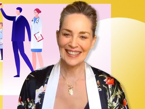 Sharon Stone had doctors checking everyone's temperatures at her 62nd birthday bash over coronavirus fears