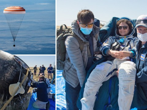 ISS astronauts land on a very different Earth after 200 days away