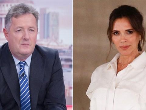 'This makes me puke': Piers Morgan fumes as Victoria Beckham 'furloughs 25 staff' during coronavirus crisis