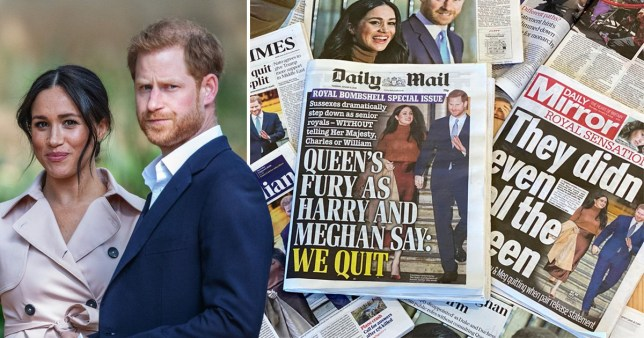 Harry and Meghan announce 'zero engagement policy' with four newspapers