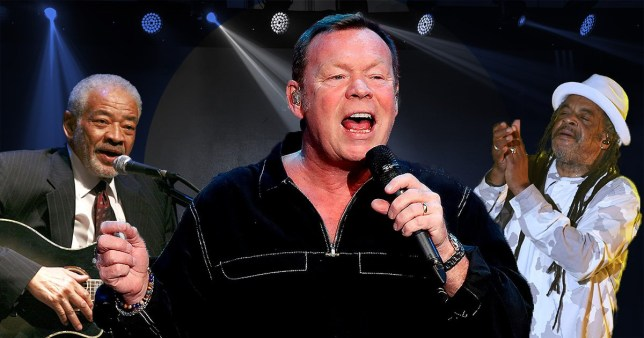 Ali Campbell, Astro and Bill Withers