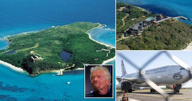 Richard Branson offers to sell Necker Island as Virgin Australia collapses