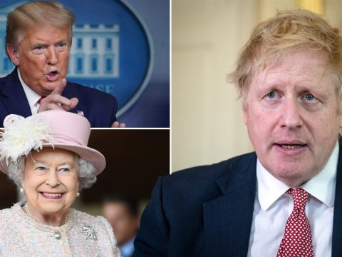 Boris not ready for work yet but will talk to the Queen and Trump this week