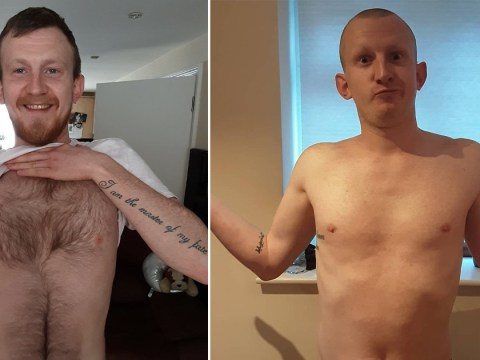 Man enjoying pints with friends online ends up waxing and shaving all his hair off for the NHS