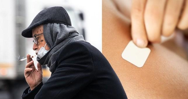 france coronavirus smoking nicotine patches