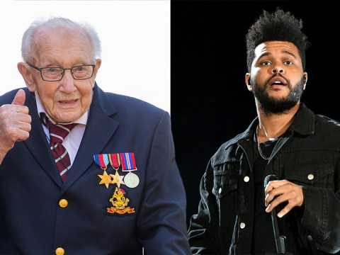 Captain Tom thrilled with 'kind gesture' as The Weeknd backs him in chart battle