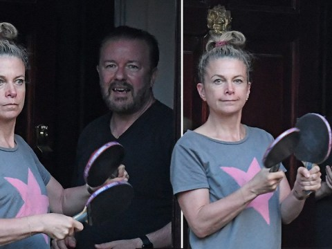 Ricky Gervais joins Jane Fallon in clap for carers after admitting to feeling a greater 'social responsibility'