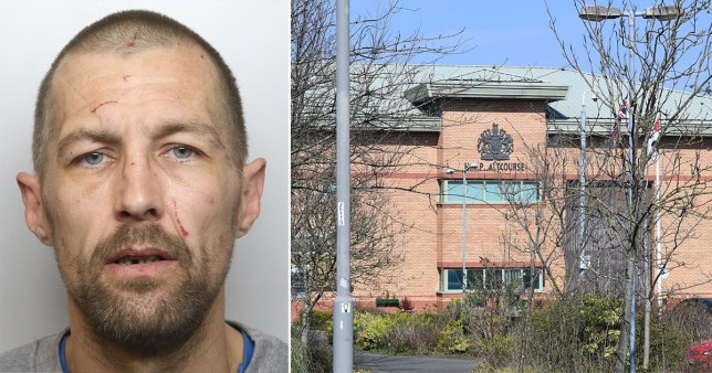 Stephen Fletcher targeted a female guard at HMP Altcourse in Liverpool after shouting 'miss' to get her attention