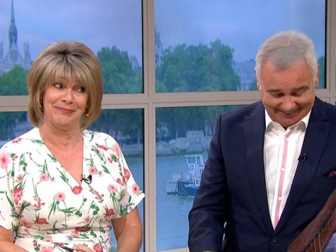 Eamonn Holmes admits to Star Trek fantasy on This Morning and wife Ruth Langsford is speechless