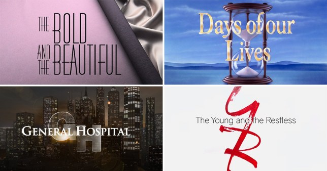 The four US daytime soaps