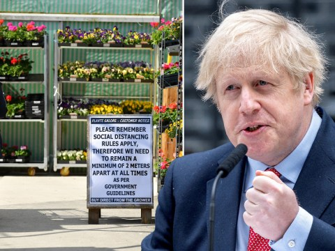 Garden centres and rubbish dumps could be opened this week as lockdown relaxes