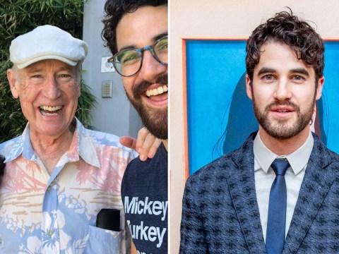 Glee star Darren Criss mourns the loss of his beloved father: 'He was a true gentleman'