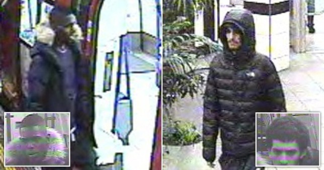 British Transport Police appealed to find these men