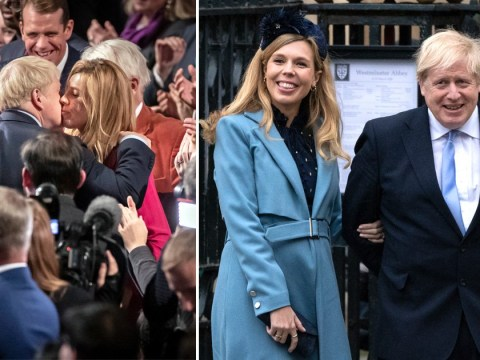 Boris Johnson and Carrie Symonds announce birth of 'healthy baby boy'