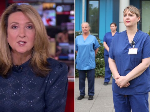 BBC defends Victoria Derbyshire as furious viewers complain she commentated through 60-second keyworker silence