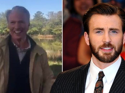 Russo Brothers give sneak peek of Chris Evans acting the fool on Avengers: Endgame set