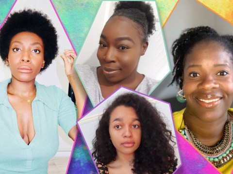 Meet the black women who are transitioning to natural hair in lockdown