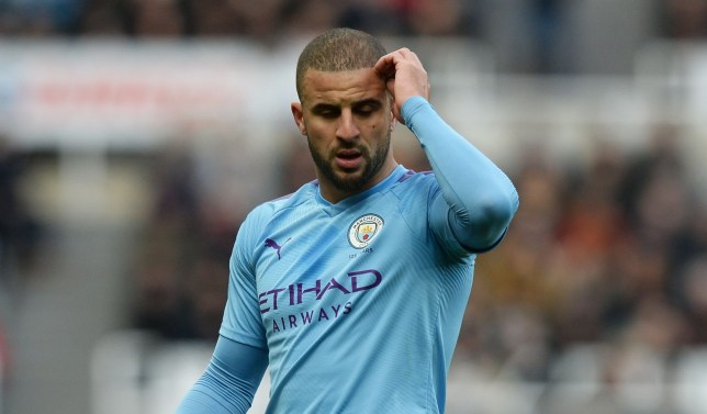 Kyle Walker has apologised after two escorts visited his flat on Tuesday evening