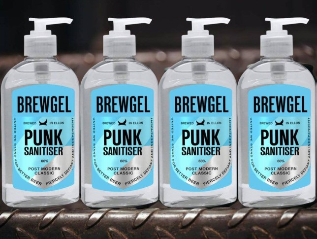 Brewdog are making hand sanitiser (Picture: Brewdog)